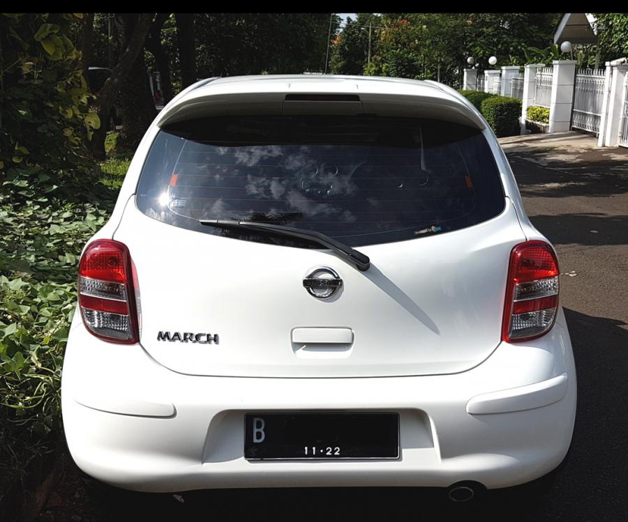 NISSAN MARCH XS AT 2012/2013 Putih Tgn 1 Km 45 Rb ...
