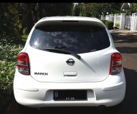 NISSAN MARCH XS AT 2012/2013 Putih Tgn 1 Km 45 Rb (Belakang.jpg)