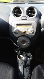 NISSAN MARCH XS AT 2012/2013 Putih Tgn 1 Km 45 Rb (Dashboard 2.jpg)