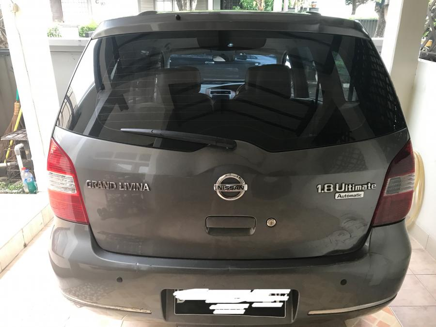 Dijual Murah Nissan Grand Livina 2008 AT 1.8 Ultimated ...
