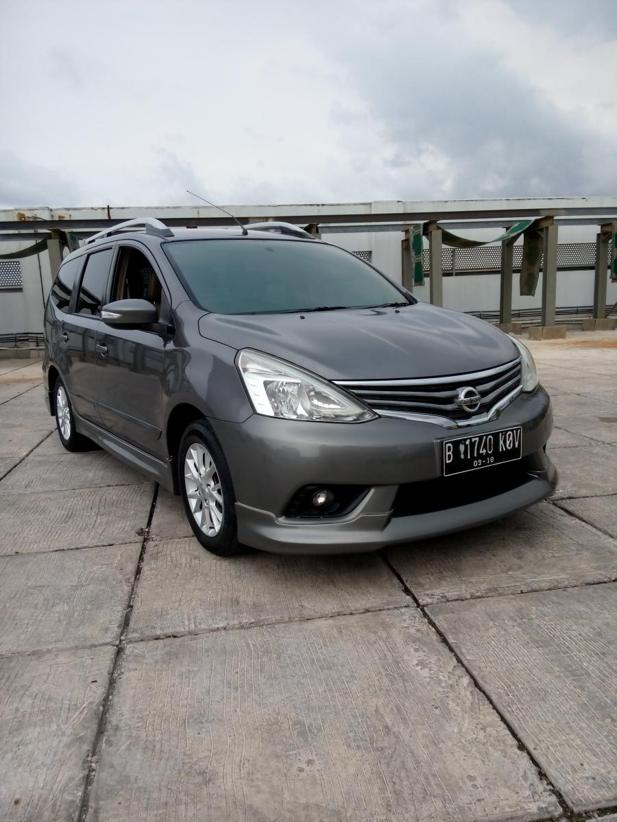 Nissan grand livina 1.5 Hws grey 2013 matic tdp 12 jt ...