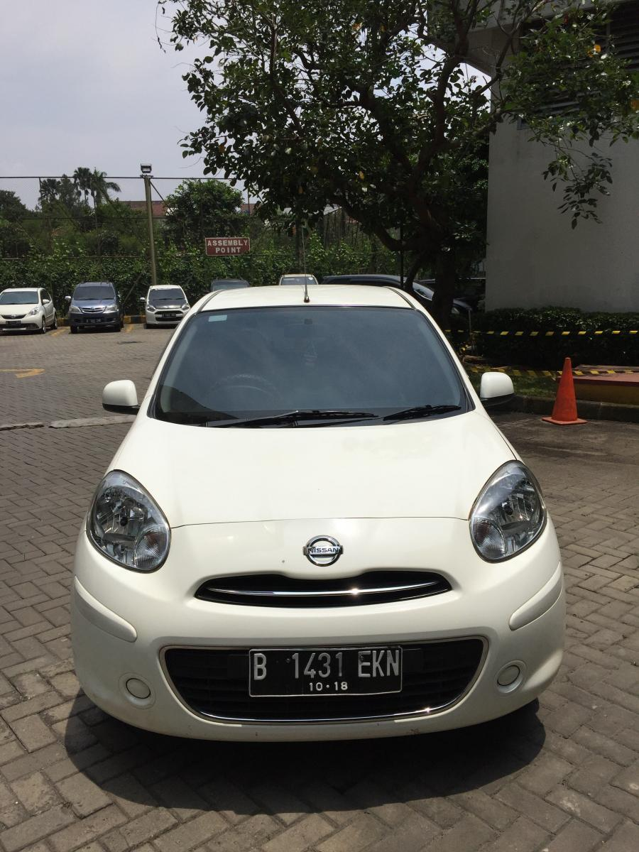 Nissan March 2013, A/T, putih mulus, 92 juta - MobilBekas.com
