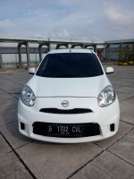 Jual Nissan march 1.2 xs sport matic 2012 putih km 29rban 08161129584
