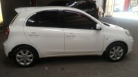 Jual NIssan March Putih Mulus