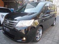 Jual All New Nissan Serena CVT Xtronic th 2013 asli Bali Velg R18 Chrom