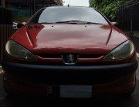 Jual Peugeot 206 M/T 2002 Merah Metalik Pajak Panjang