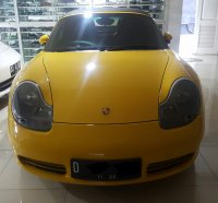 Porsche Boxster S Cabriolet jarang ada