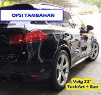 PORSCHE CAYENNE S 4.8L Black HITAM TECHART BodyKiT 2011 (10.jpg)