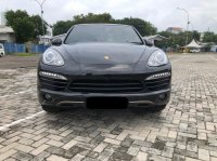 Jual PORSCHE CAYENNE TURBO AT HITAM 2012