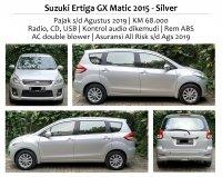 Jual Suzuki Ertiga GX Matic, 2015