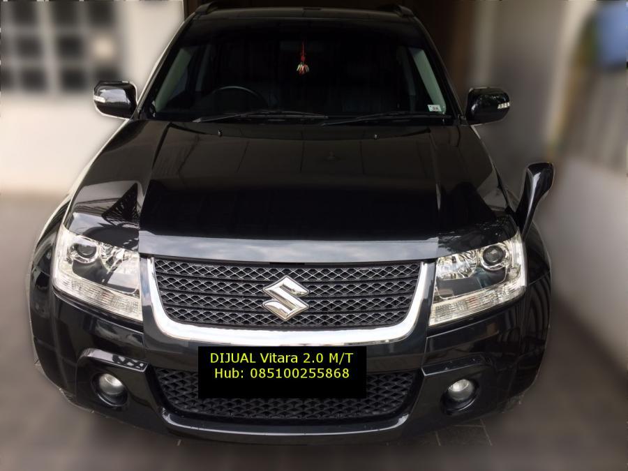 DIJUAL MOBIL Suzuki Grand Vitara 2.0 JLX M/T, BLACK, Th ...