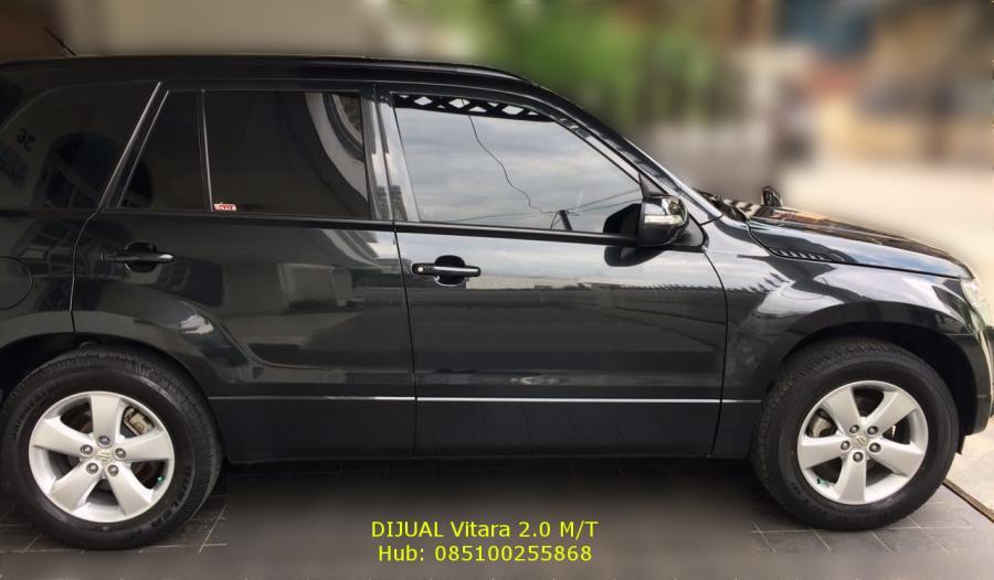 dijual mobil suzuki grand vitara 2 0 jlx m t black km 12r. Black Bedroom Furniture Sets. Home Design Ideas