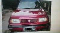 Jual cepat Suzuki Escudo 1.6 JLX 1996 merah metalic