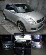 Jual Suzuki Swift 2010 ST A/T Silver