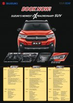 XL-7: SUZUKI XL 7 OPEN INDENT PROMO KREDIT DP MURAH