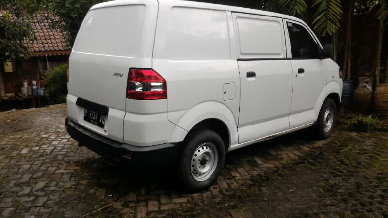 Suzuki APV Blind Van Th. 2013 Putih - MobilBekas.com