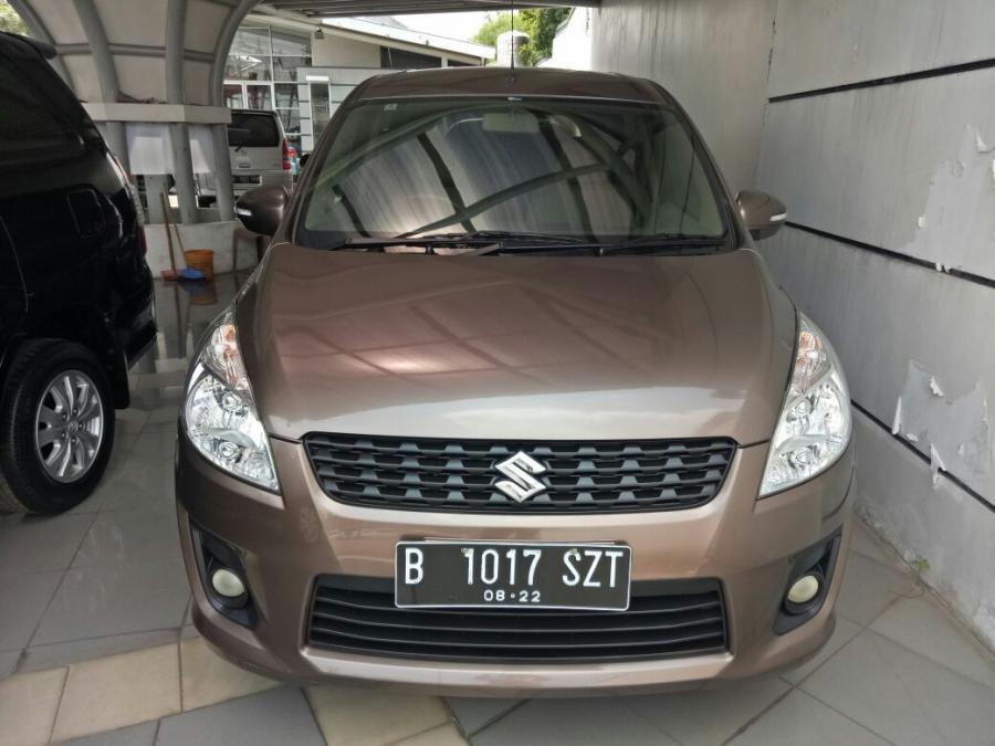 Suzuki Ertiga 2012 GX manual coklat metalik - MobilBekas.com