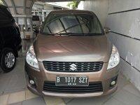 Jual Suzuki Ertiga 2012 GX manual coklat metalik