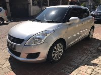 Jual Suzuki Swift GL 2013 Silver Metalik Matic