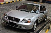 Suzuki Baleno 2000 Silver 7.000KM Barang Simpanan 99% Seperti Baru