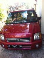 Jual Suzuki Karimun 2003 warna merah manual