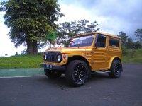 Bismillah JUAL Suzuki Jimny LJ80 (kotrik) th. 80 murah meriah..
