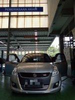 Jual Suzuki: Swift GX 2014 pemakaian 2015