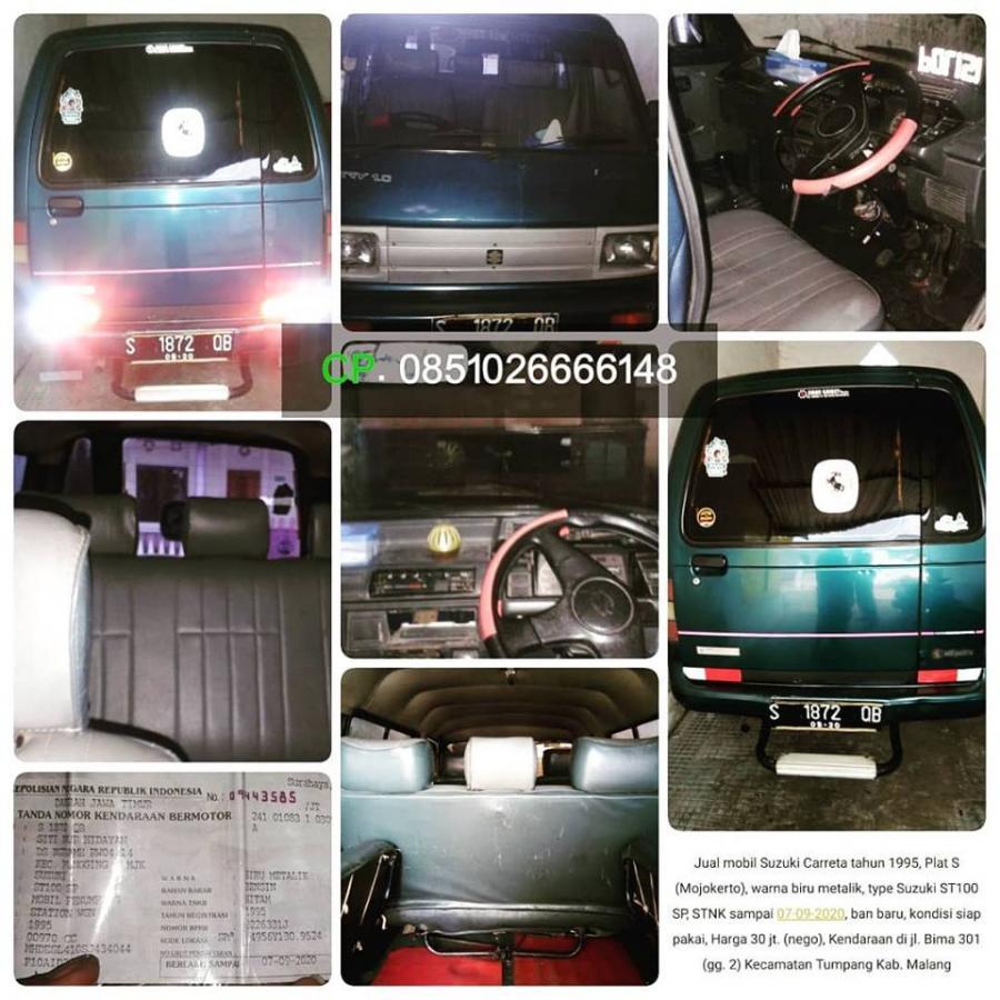 Carry: Jual Mobil Bekas Suzuki Carreta tahun 1995