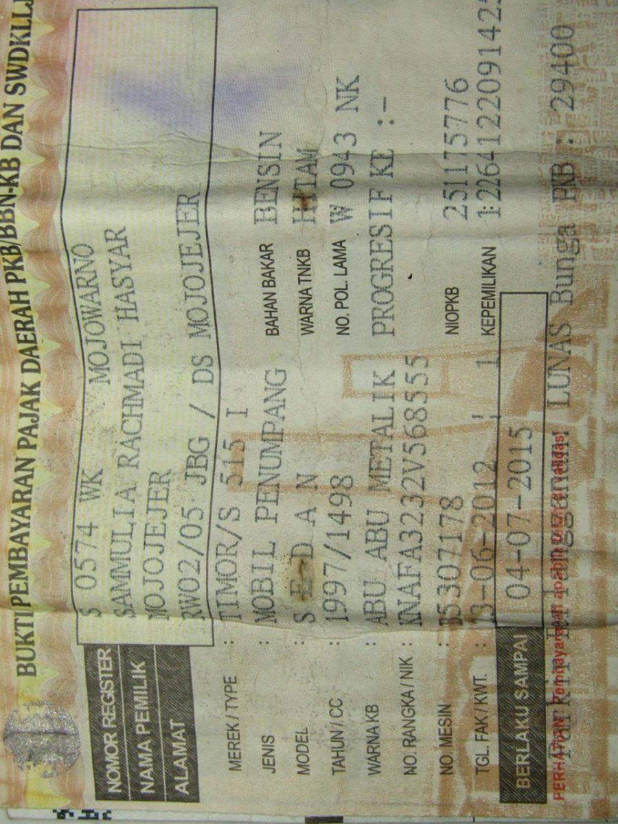 S515: Timor S 515 I Th 97 Jual Apa Adanya - MobilBekas.com