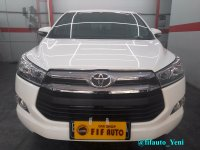 Jual Toyota Kijang Innova 2.0 V AT 2017 putih (Reborn)