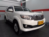 Jual Toyota Fortuner 2.5 G Automatic 2013 Putih.