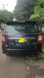 Jual Toyota: Kijang innova v bensin manual th 2012 biru metalik.