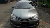 Toyota Etios 1.2 E tahun 2013 manual abu abu metalik