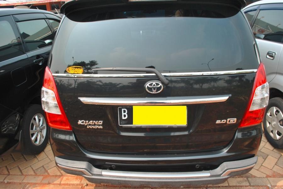Toyota Kijang Innova 2.0 G MT Bensin 2013 - MobilBekas.com