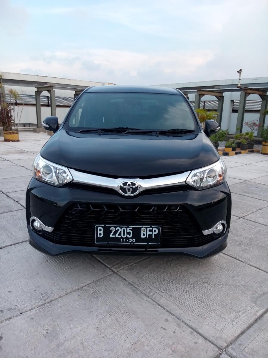 Toyota All New Avanza 1 5 Veloz 2015 Hitam Mobilbekas Com