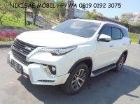 Toyota: UM130jt bawa pulang Fortuner 2.4VRZ/AT-2O16,Nol Spet,Low KM,spt Baru