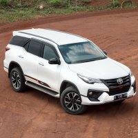 PROMO GRATIS Anti Karat Toyota Fortuner 4 x 2, 2.4 VRZ TRD Luxury 2018 (Fortuner Front Right Up.jpg)