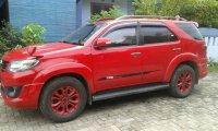 Jual Over Kredit..Toyota Fortuner 2.5 TRD G, 2015, Merah Metalik..