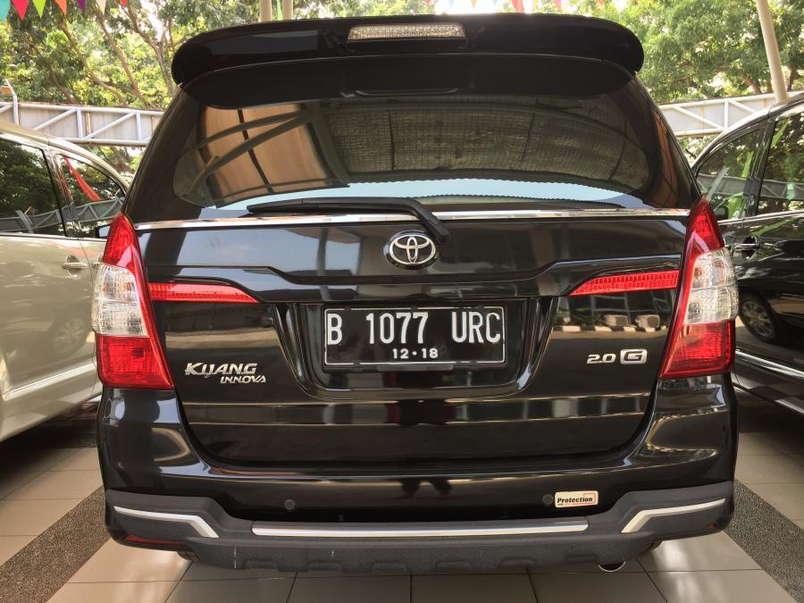 Toyota Innova G a/t Hitam Harga Nego - MobilBekas.com