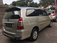 Jual Toyota Innova G M/t Silver Metalik Harga Nego