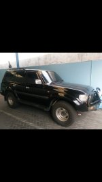 Jual Toyota Land Cruiser: Landcruiser VX turbo intercooler 1996 manual 4x4 warna hitam