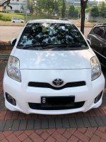 Jual Toyota Yaris E 2013 matic putih tangan pertama pajak baru perpanjang