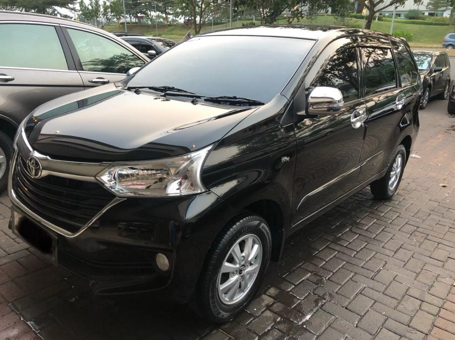 Toyota Avanza G 2017 manual hitam masih seperti mobil baru ...