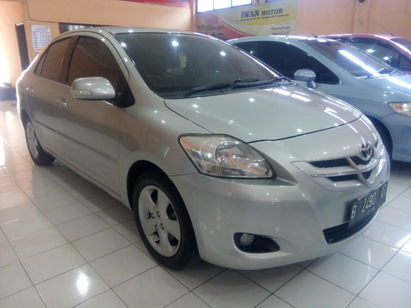 Toyota All New Vios G Manual Tahun 2008 - MobilBekas.com