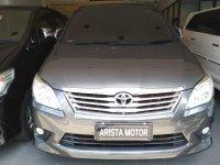 Toyota: Innova G 2.5 AT 2012 grey