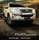 Jual Promo termurah dan terbaik Toyota New Fortuner VRZ AT diesel 2018