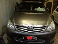 Jual Toyota Kijang Innova 2010 2.0G MPV