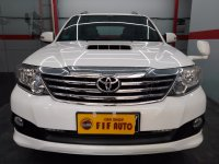 Jual Toyota Fortuner 2.5 G Automatic 2013 Putih
