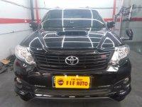 Jual Toyota Fortuner 2.5 G TRD Autometic 2015 Hitam metalik