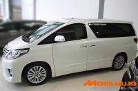 Toyota: Jual alphard 2012 automatic